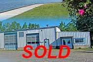 Welding Shop on 4.2 acr property for sale in Baddeck on Cape Breton Island, Nova Scotia, Canada