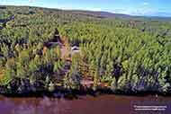 real estate for sale at the River Denys on Cape Breton Island, Nova Scotia, Canada between Baddeck, Port Hawkesbury, Cabot Trail and Highlands National Park