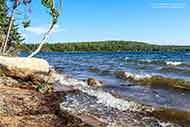 waterfront property at Bras d'Or Lake in Malagawatch on Cape Breton Island, Nova Scotia Canada for sale