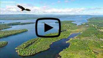 On the Bras - d'Or 140 acr property for sale on Cape Breton Island