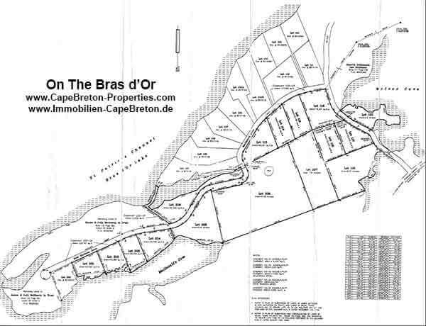 On The Bras d'Or Subdivision Plan small
